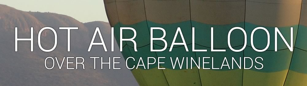 Hot Air Ballooning Cape Winelands